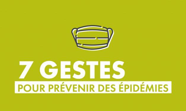 Épidémies : les gestes préventifs
