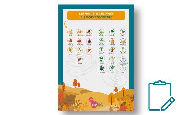 Mémo : Fruits et légumes d'automne
