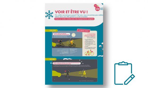 Mémo : Voir et être vu en vélo